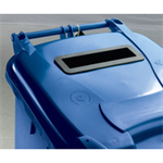 FSMISC 240L LOCKED BLUE WHEELIE BIN 377892892