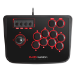 Mars Gaming MRA Fightstick PC, Playstation 2, Playstation 3 Negro, Rojo mando y volante