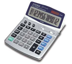 Aurora DT401 calculator Desktop Basic Grey