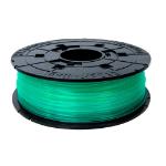 XYZprinting RFPLAXEU01C Polylactic acid (PLA) Green,Transparent 600g