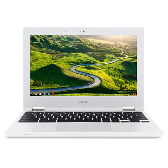 "Acer Chromebook 11 CB3-131-C9TK White 29.5 cm (11.6"") 1366 x 768 pixels Intel® Celeron® 2 GB DDR3L-SDRAM 16 GB Flash Chrome OS"