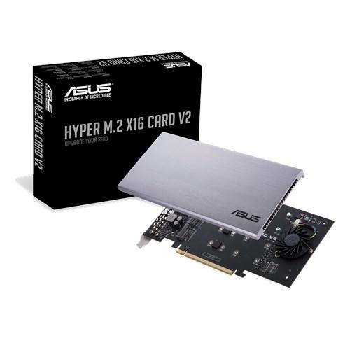 ASUS HYPER M.2 X16 CARD V2 interface cards/adapter Internal