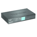 Trendnet TPE-S44 network switch Unmanaged Blue Power over Ethernet (PoE)