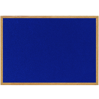 Bi-Office EARTHIT FELT BOARD BLUE 900X600