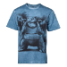 Pokémon Men's Blastoise Oil Washed T-Shirt, Large, Blue (TS576026POK-L)