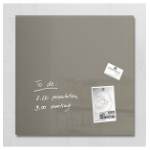 Sigel GL118 Glass Grey magnetic board