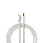 Nedis CCTB65940AL10 audio cable 1 m USB C 3.5mm Aluminium