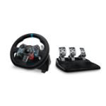 Logitech G G29 Steering wheel + Pedals PC, PlayStation 4, Playstation 3 Analogue USB 2.0 Black