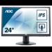 """AOC Pro-line I2475PRQU computer monitor 61 cm (24"""") Full HD LED Flat Matt Black"""