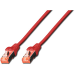 Digitus Cat6 S-FTP, 0.5m networking cable Red SF/UTP (S-FTP)