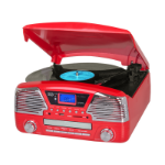 Trevi TT 1068 E Direct drive audio turntable Red