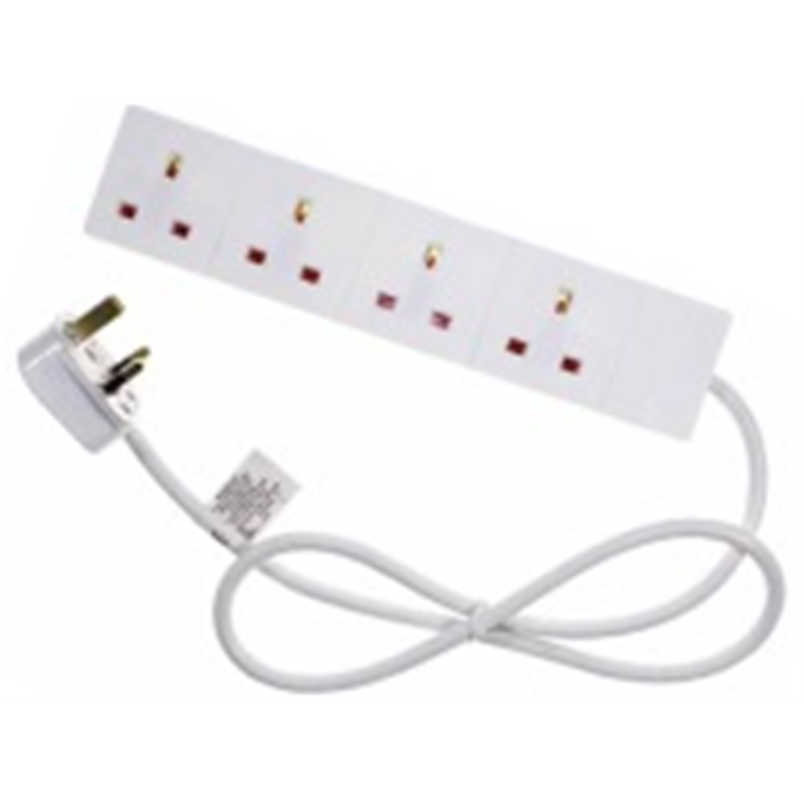 Target ELEC4WAY2M power extension 2 m 4 AC outlet(s) Indoor White