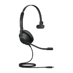 Jabra Evolve2 30, MS Mono Headset Head-band USB Type-C Black