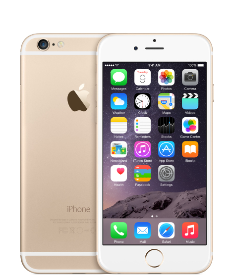 Apple iPhone 6 Tarjeta SIM sencilla 4G 128GB Oro