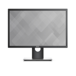 "DELL P2217 22"" LED Matt Flat Black computer monitor LED display"