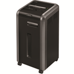 Fellowes 225Mi paper shredder Particle-cut shredding 24 cm Black