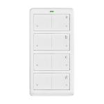 INSTEON Mini Remote 4 Scene RF Wireless Press buttons White remote control