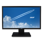 "Acer V6 V246HL LED display 61 cm (24"") Full HD Flat Black"