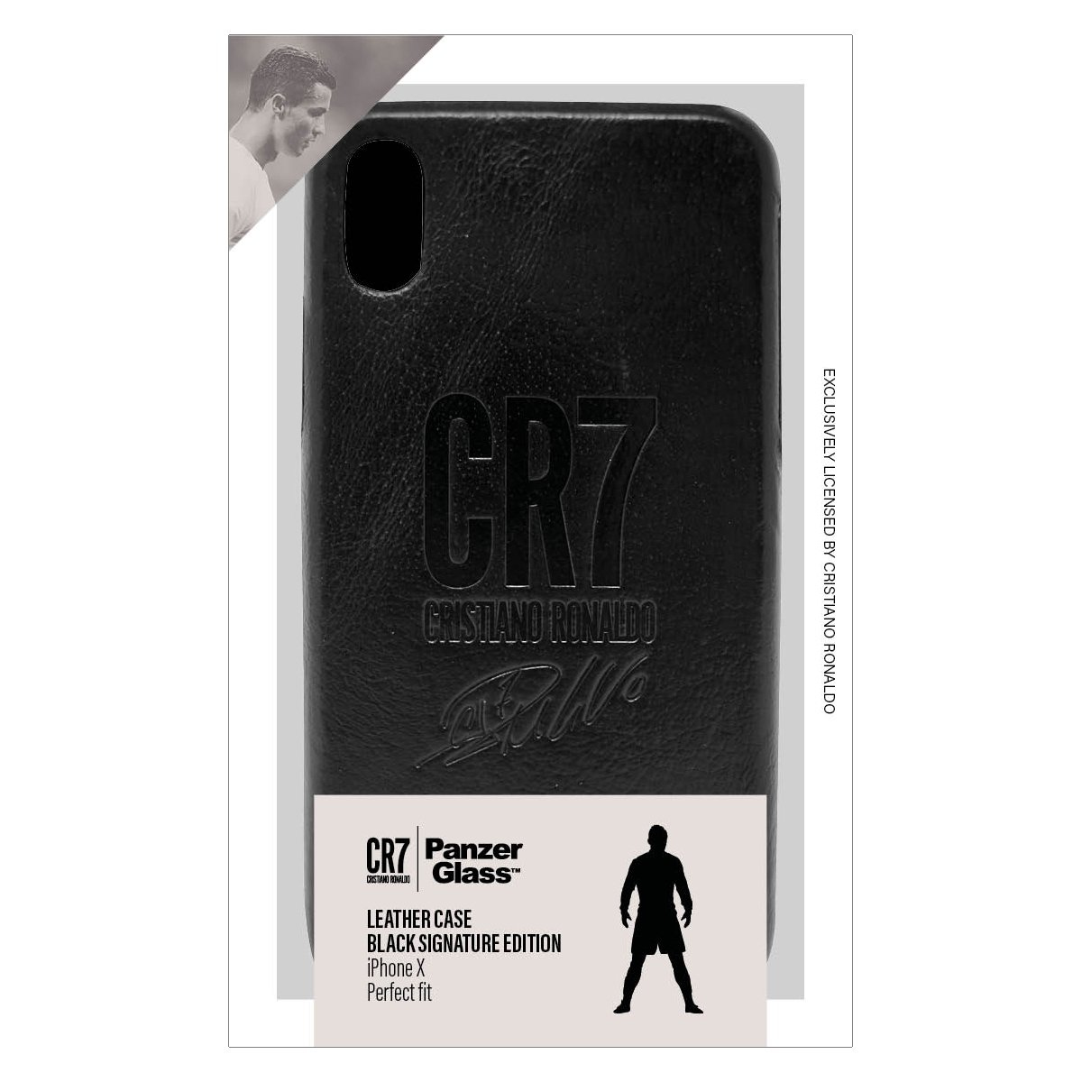 "PanzerGlass 0147 mobile phone case 14.7 cm (5.8"") Cover Black"