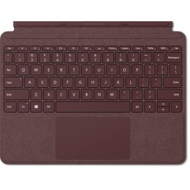 Microsoft Surface Go Signature Type Cover mobile device keyboard QWERTY English Burgundy