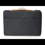 "HP ENVY Urban 15.6 Sleeve notebook case 39.6 cm (15.6"") Sleeve case Charcoal,Grey"