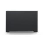 Nobo Diamond Glass Board Magnetic Black 1883x1059mm