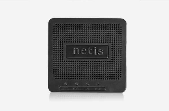 Netis System DL4201 Ethernet LAN ADSL2+ Black wired router