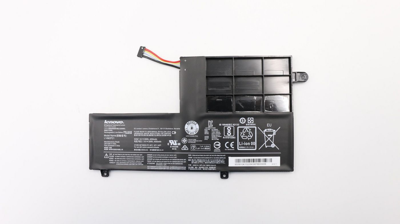 Lenovo Battery 30Wh2cell GB 5B10K10229, Battery, Lenovo - Approx 1-3 working day lead.