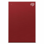 Seagate Backup Plus Slim externe harde schijf 1000 GB Rood