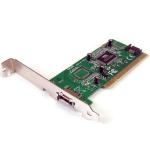 StarTech.com 1 Port eSATA + 1 Port SATA PCI SATA Controller Card w/ LP Bracket