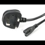 StarTech.com Laptop Power Cord 1.8m Black power cable