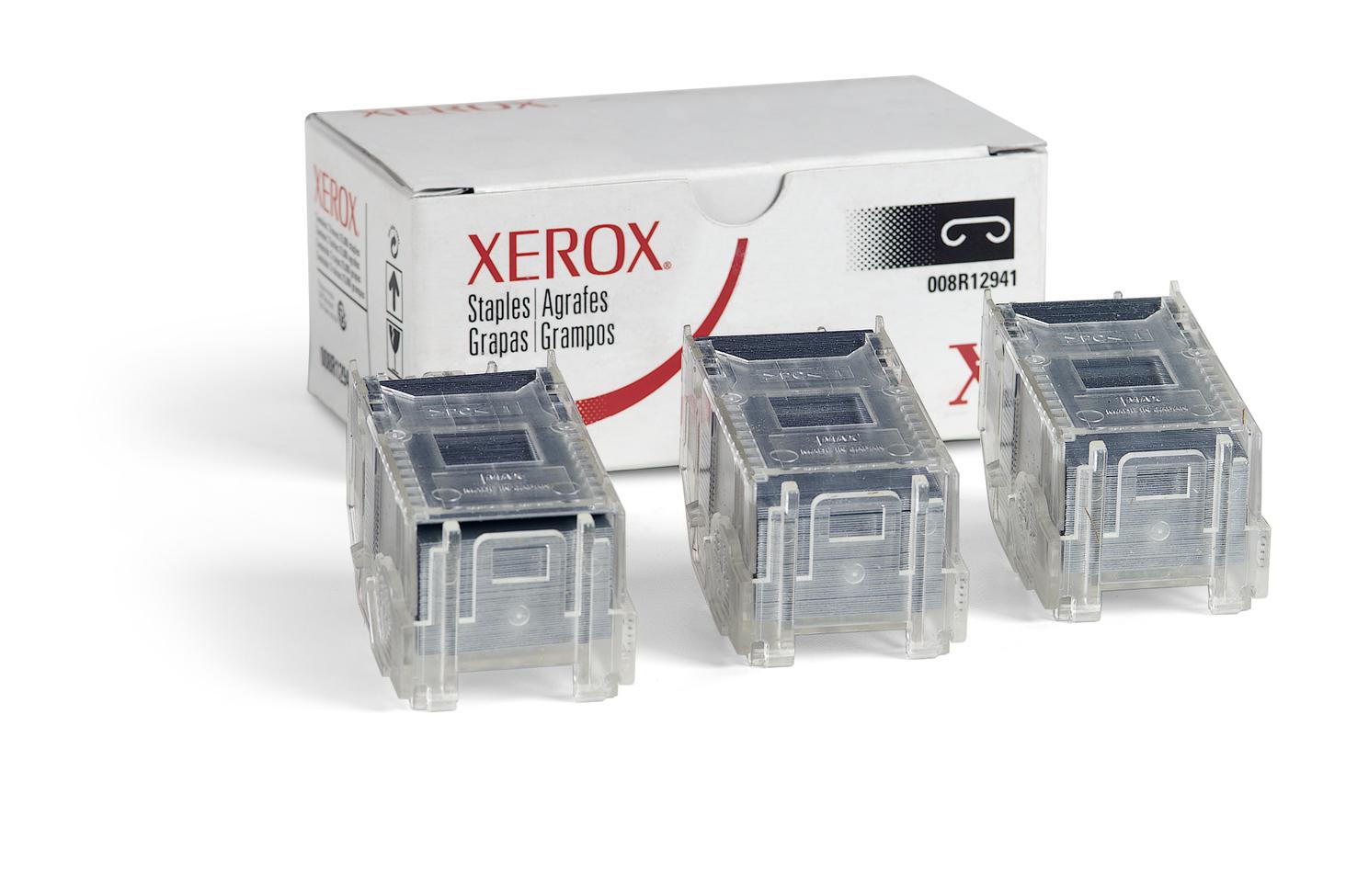 Xerox Recarga de grapas para acabadoras avanzada y profesional y grapadora auxiliar