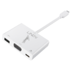 Lindy 43230 USB graphics adapter White