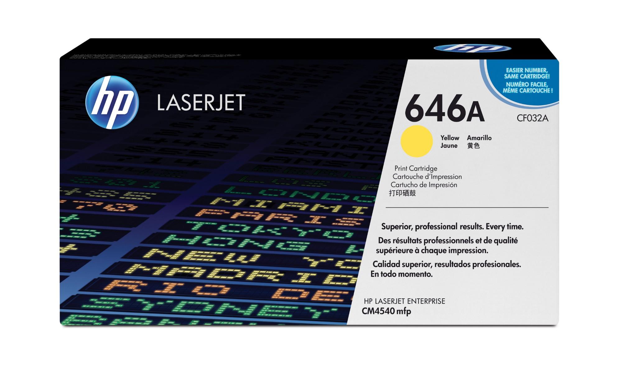 HP 646A Origineel Geel 1 stuk(s)