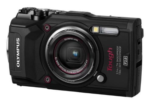 """Olympus TG‑5 Compact camera 12MP 1/2.33"""" CMOS 4000 x 3000pixels Black"""