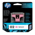 HP 02 Magenta claro cartucho de tinta