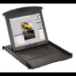 "Austin Hughes Electronics Ltd N117-S801E_EU 17"" 1280 x 1024pixels Black rack console"