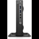 HP 260 G2 2.3GHz i3-6100U Small Desktop Black Mini PC