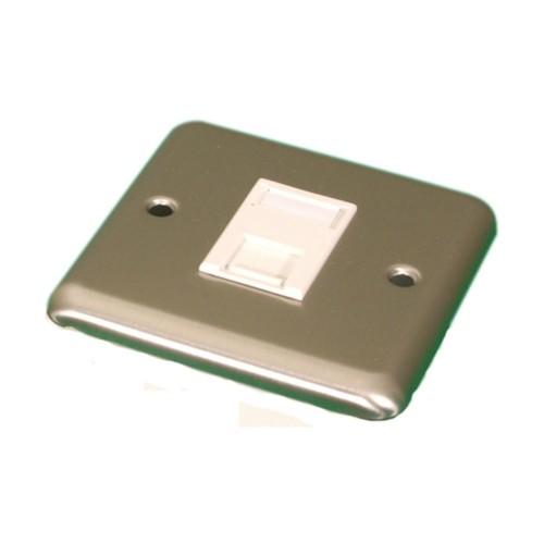 Videk 4295SC wall plate/switch cover Chrome