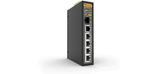 Allied Telesis IS130-6GP No administrado L2 Gigabit Ethernet (10/100/1000) Negro Energía sobre Ethernet (PoE)