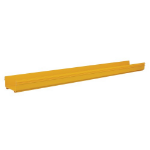 Tripp Lite SRFC10STR72 Toolless Straight Channel Section for Fiber Routing System, 240 x 120 x 1830 mm (10 x 5 x 72 in.)