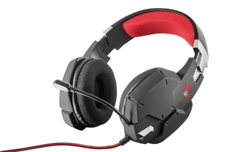 Trust GXT 322 Headset Head-band Black, Red