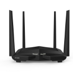 Tenda AC10U wireless router Dual-band (2.4 GHz / 5 GHz) Fast Ethernet Black