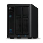Western Digital My Cloud Pro PR2100 N3710 Eingebauter Ethernet-Anschluss Desktop Schwarz NAS