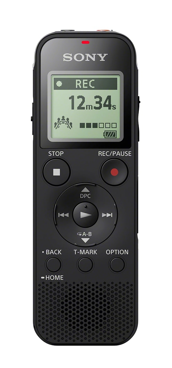 Sony ICD-PX470 Internal memory & flash card Black dictaphone