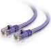 """C2G Cat5e, 25ft. networking cable 300"""" (7.62 m) Purple"""