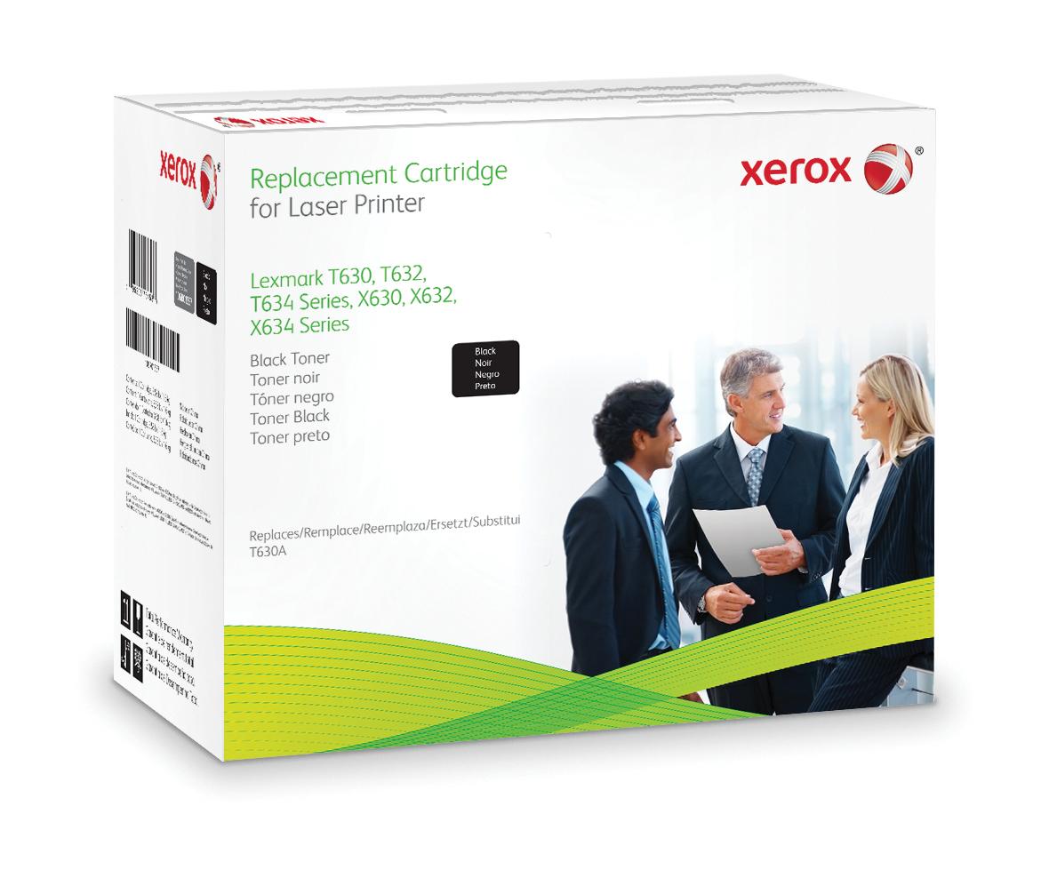 Xerox Cartucho De Tóner Negro. Equivalente A Lexmark 12A7362, 12A7462