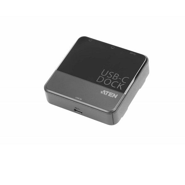 ATEN USB-C Dual-View Mini Dock