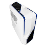 NZXT Phantom 410 Midi-Tower Blue,White computer case