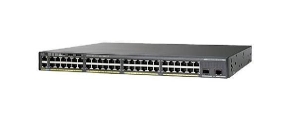 Cisco Catalyst WS-C2960XR-48TS-I switch Gestionado L2 Gigabit Ethernet (10/100/1000) Negro